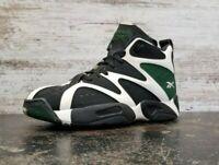 Reebok Kamikaze 1 Mid Seattle SuperSonics Basketball Shoes Sz 8 Used V60362