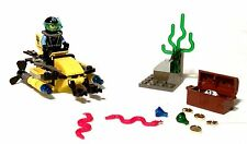 3for2-lego sistema AquaZone 7770 deep sea Treasure Hunter + oba + embalaje original-completo