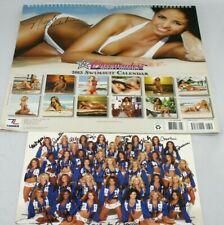 2013 Dallas Cowboys Cheerleaders Swimsuit Calendar Picture Autographed