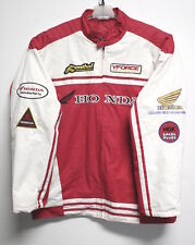 Rare HONDA RACING Motorcycle JACKET Embroidered-Patches MENS 3XL XXXL FREE SHIP