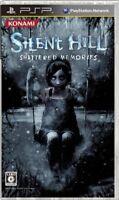 USED PSP Silent Hill: Shattered Memories Japan Import game soft