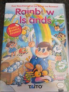 NES Rainbow Islands PAL In Custom Case