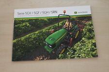 157174) John Deere 5080 5090 5100 gf gv GH folleto 10/2009