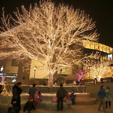 20m LED Fairy String Lights Christmas lights Warm White 220V Wedding Party Decor