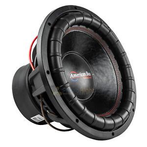 "American Bass XFL-1544 15"" Subwoofer Dual 4 Ohm 2000 Watts Max Car Audio Single"