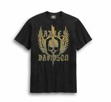 "Harley-Davidson"" SKULL Wing ""Camiseta Hombre 96307-20VM Camiseta de Manga Corta"