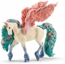 Schleich Flower Pegasus Bayala Plastic Fantasy Animal Figure NEW  70590