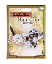 Ladies Steam Punk Hair Clip Victorian Science Fiction Fancy Dress
