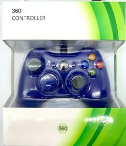 For Microsoft Xbox 360 Wired Controllers Joystick PC Windows USB - New NIB