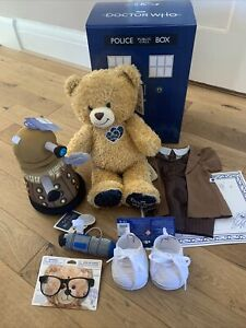 Build A Bear - Doctor Who Bear Tenth Doctor with  Dalek Gift Set