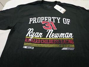 NASCAR Ryan Newman Richard Childress  RCR  Racing T-Shirt  Large New w/ DEFECTS