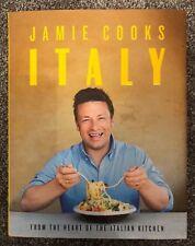 Jamie Oliver Cooks Italy SIGNED Hardback Book - 1st Edition 5th Impression RARE
