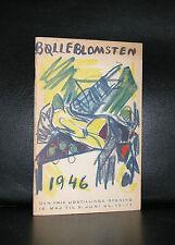 Denmark, Cobra, Nielsen a.o. # BOLLEBLOMSTEN # 1946, nm