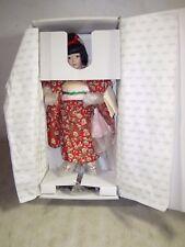 Vintage Lenox Sakura Japanese Girl Porcelain Doll New NIB NOS Children Of World