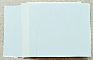 """6 x 6"""" Sq Card Blanks in White Smooth card with white ENVELOPES NEW"""