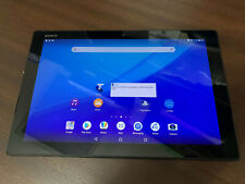 Sony Tablet Z4 WIFI   4G LTE SGP771 32gb Black Unlocked Excellent Condition