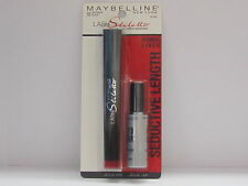 Maybelline Stiletto Ultimate Length Mascara Brownish Black+Liquid Eyeliner Black