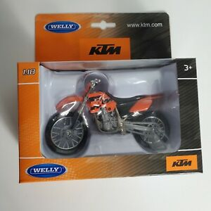 Welly KTM 450 SX 1:18 Die Cast Motorcycle