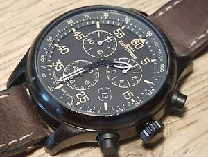 Mens TIMEX Expedition chronograph watch - WORKING - Indiglo light - T49905