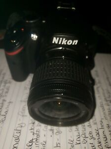 Pre-owned nikon d3200 camera