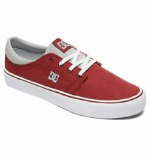 Tg 42 - Scarpe Uomo Skate DC Shoes Trase TX Dark Red Rosso Sneakers Schuhe 2019