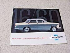 1966 WOLSELEY 16-60 (UK) SALES BROCHURE !!!