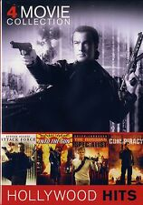 NEW 4 MOVIE SET // STEVEN SEAGAL // ATTACK FORCE + INTO THE SUN + CONSPIRACY +1