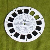 """1968 View Master The Mod Squad """"Bad Man on Campus"""" No. B 4782 Reel 2 MISSING FRS"""
