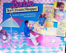 1987 Vintage Barbie Ice Cream Shoppe In Box