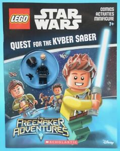 LEGO Star Wars - Quest for the Kyber Saber activity book - Death Star Trooper