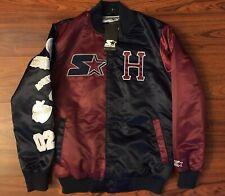 Huf Starter Jacket Sz Medium Satin Coat Patches Black Label
