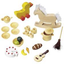 Puppenhauszubehör Holz Puppenhaus-Zubehör Schaukelpferd Neu