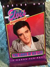 """NOS 1992 THE RIVER GROUP """"THE ELVIS COLLECTION"""" CARDS OF HIS LIFE SERIES ONE #1"""