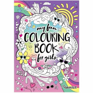 Colouring Fun Girls - Kids Colouring Book In A4 Fun Images Cool School Activity