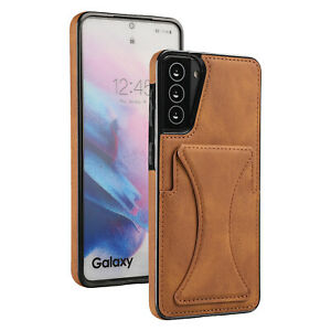 Leather Wallet Card Holder Stand Case For iPhone 13 12 Pro Max 11 XS XR 8 7 Plus