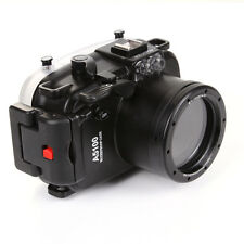 40M 130ft Waterproof Housing Case for Sony A5100 Camera Underwater Photo