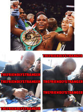 FLOYD MAYWEATHER signed Autographed 8X10 PHOTO - PROOF - Boxing Champion COA