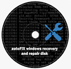 Windows XP-7-8-8.1-10 autoFIX Repair and Recovery Boot Disc + Software CD