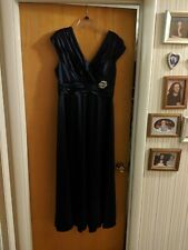 Evening gown size 14 royal blue Patra