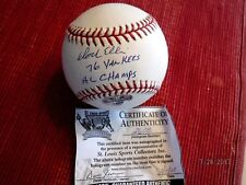 DOCK ELLIS (76 Yankees AL Champs) Signed MLB Baseball -JSA Authenticated #V26940