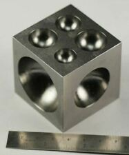 """50mm Solid Steel Doming Dapping Block 2""""  jewellery craft making jewellers"""