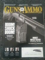 Guns & Ammo Handguns Magazine August 2018 Mauser M18 .308 Winchester and More!