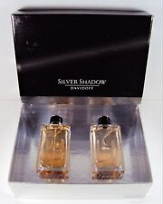 Silver Shadow by Davidoff 2 PC  Set for Men 3.4oz EDT Spray + 3.4 oz After Shave