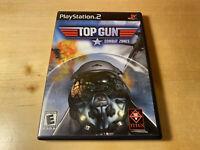 Top Gun: Combat Zones - Playstation 2 Game Complete