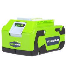 Greenworks G-24 24V 4.0 Ah Lithium-Ion Battery 29852 New