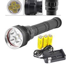 Scuba 30000lm 5xxm-l2 LED Diving Flashlight Waterproof 100m Torch 26650 6800mah