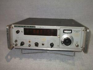 HEWLETT PACKARD 5245L ELECTRONIC COUNTER / 5254A FREQUENCY CONVERTER