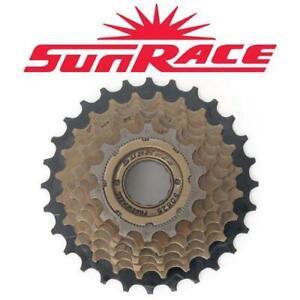 Sunrace Bike Cassette - Freewheel - 14 - 28T - 7 speed - Raw