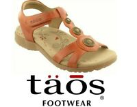 Taos Footwear Comfort Walking Sandals leather Taos Shoes Treasure 2 Brick Sale