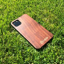 "Apple iPhone 11 Pro (5.8"") Real Walnut Wood Case - Wooden iPhone 11 Pro Cover"